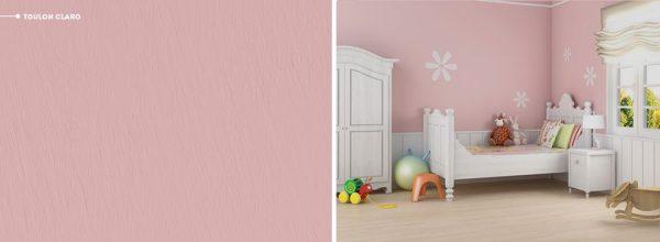 quarto de bebe rosa